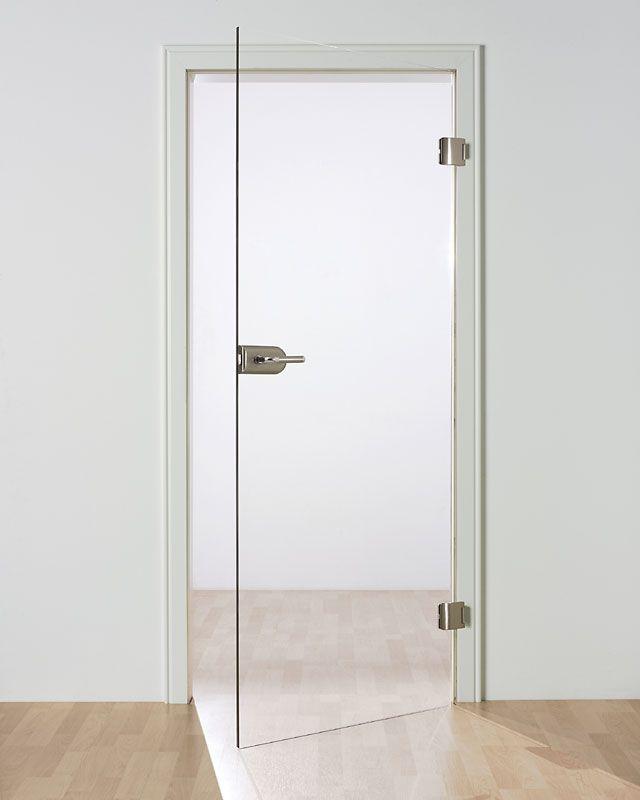 Puerta abatible corredera de cristal bayreuth sprinz for Puertas correderas de cristal