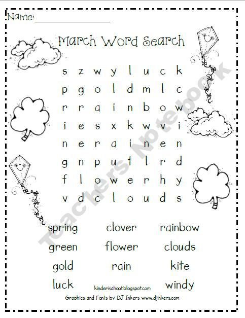 Fall Word Search for Fun English Words Game - Printable Shelter