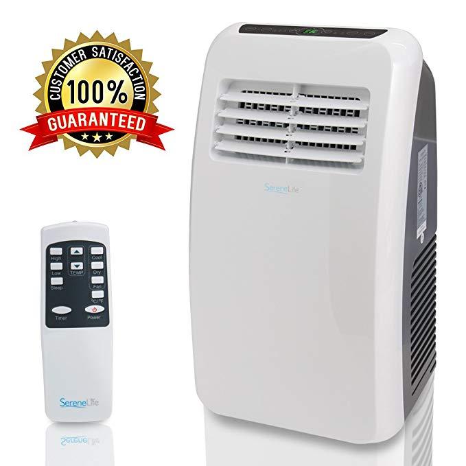 Amazon Com Serenelife 8 000 Btu Portable Air Conditioner 3 In 1 Floor Ac Unit Wit Room Air Conditioner Portable Air Conditioner Room Air Conditioner Portable