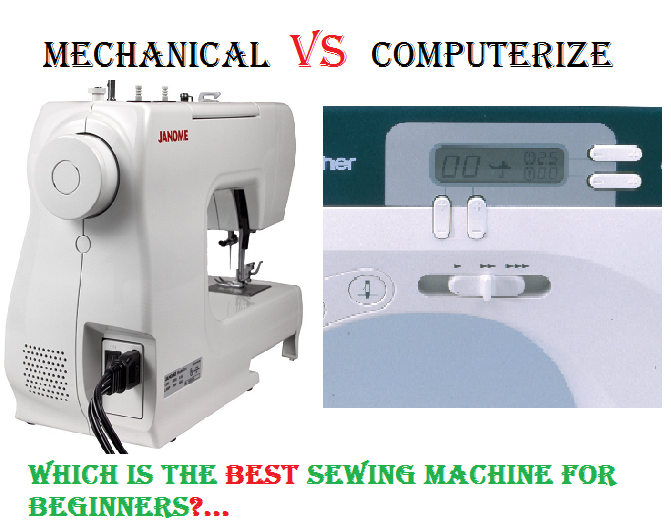 Recommended 40 Best Sewing Machines For Beginners Mechanical VS Enchanting What Is The Best Sewing Machine For A Beginner