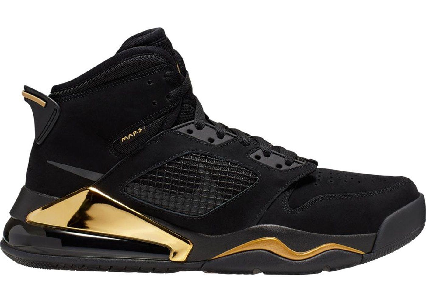 Jordan Mars 270 Black Gold in 2021 | Jordans for men, Womens ...