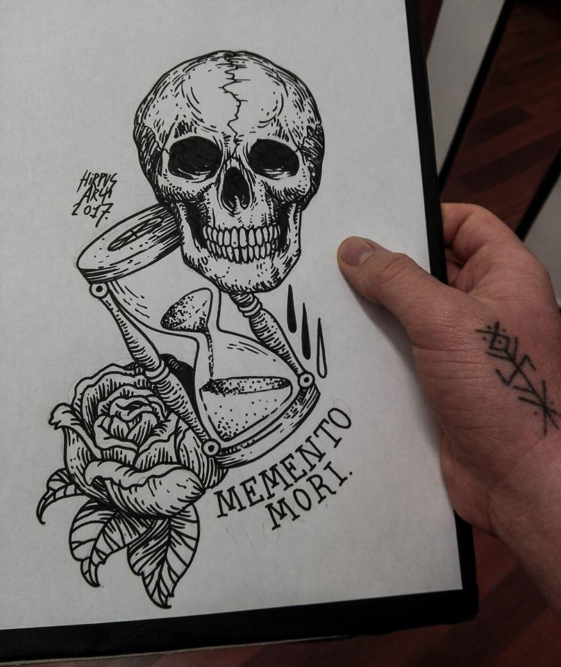 Pin by Nicholas Kuklewicz on Tatuagem Memento mori