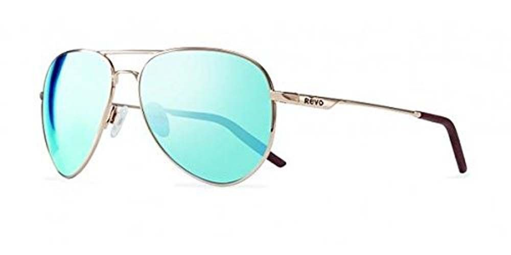 f05b476d1898b Revo Eyewear Sunglasses Observer Gold with Blue Water Polarized Lens  Sunglasses (eBay Link)