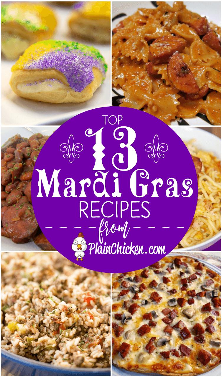 top 13 mardi gras recipes to celebrate fat tuesday. cajun pasta
