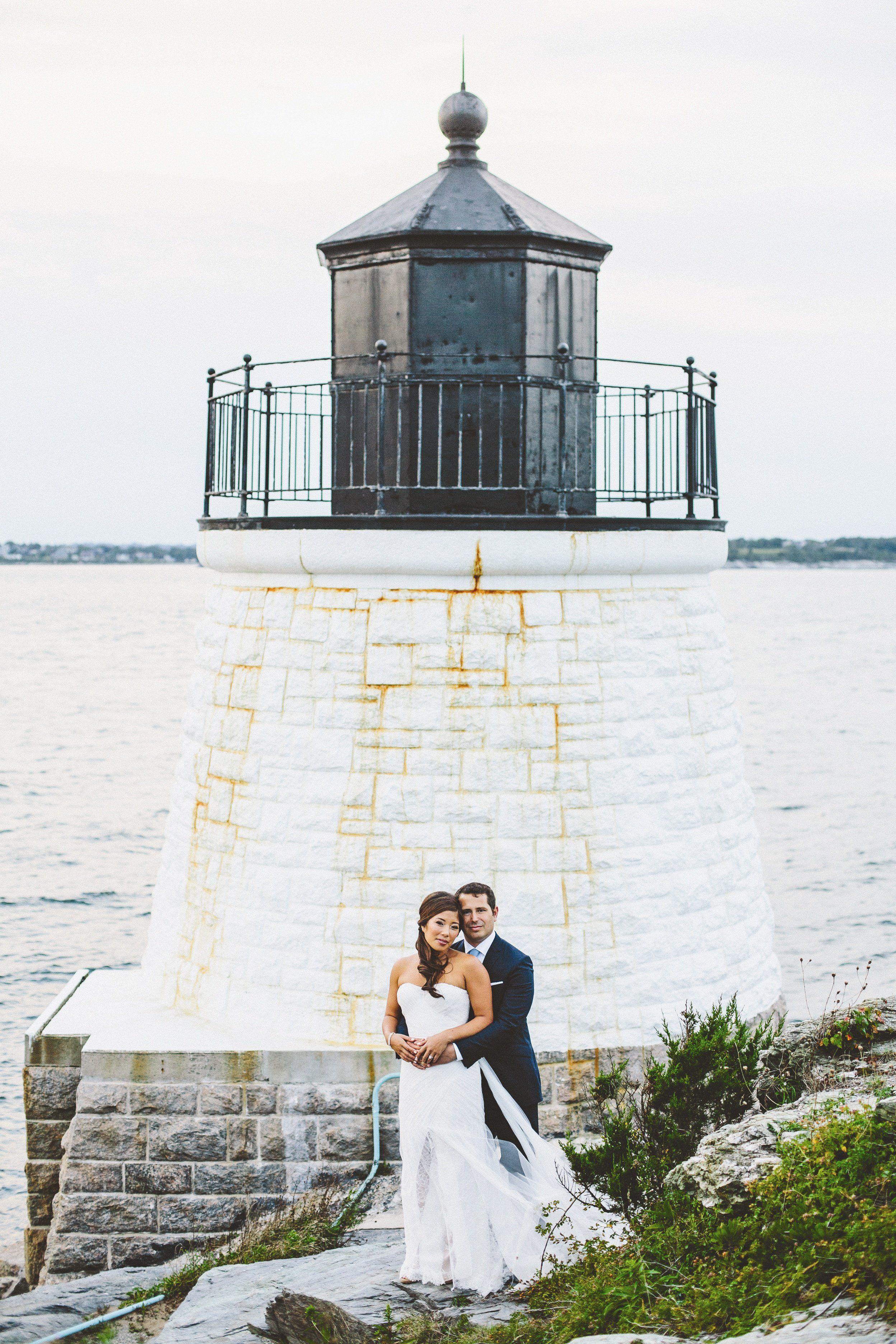 A Castle Hill Inn Wedding In Newport Rhode Island: Lighthouse Wedding Venue Ri At Reisefeber.org