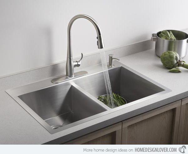 Functional Double Basin Kitchen Sink Drop