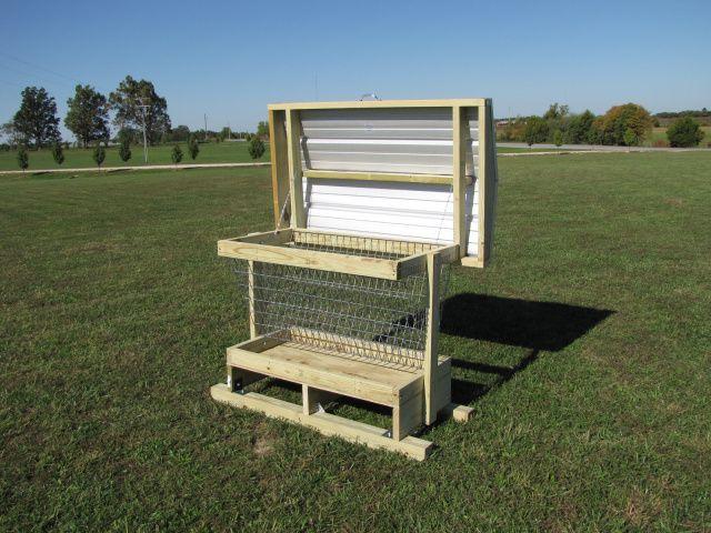 goat feeder, a design ...