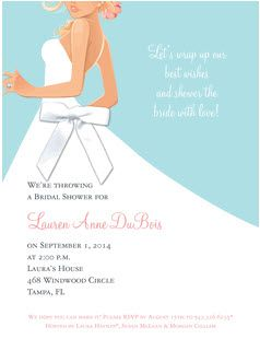 bridal shower invitations with grooms name use bride elect or fiancee of __