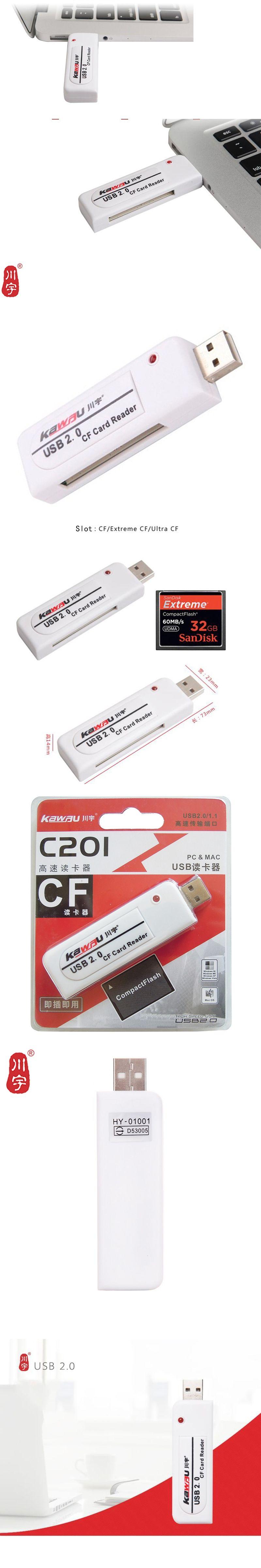 Kawau Usb 20 Microsd Card Reader Supports Up To 64gb With Cf Slot C201