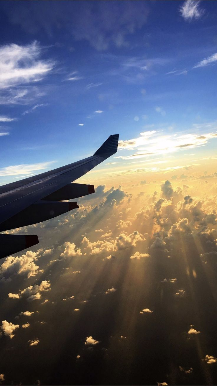 pin em pesawat dan awan