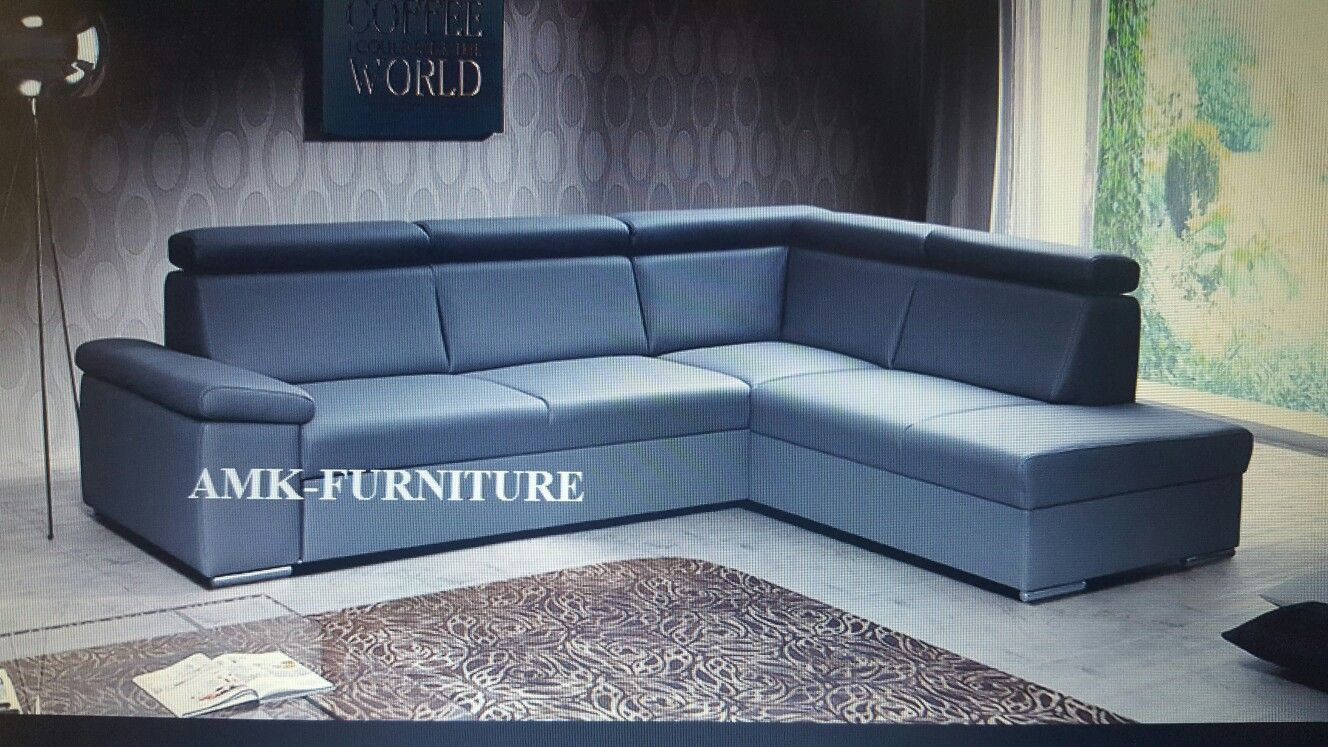 Amk-Furniture.eu corner sofa bed   Bedroom Cezar from £200   Pinterest