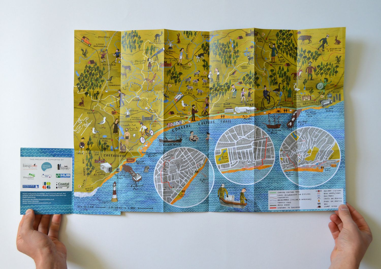 Coastal Culture Trail Map