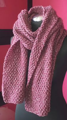 Photo of Einfacher Schal, Perlmuster stricken