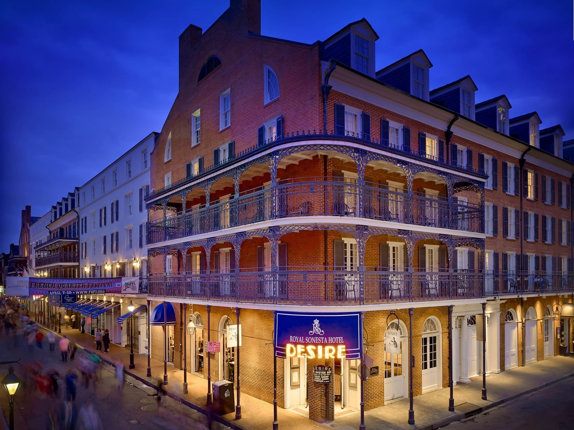 New Orleans 15 Essential Hotels Hotels On Bourbon Street New