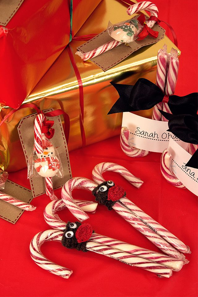 3 Easy Candy Cane Crafts for Christmas (With images