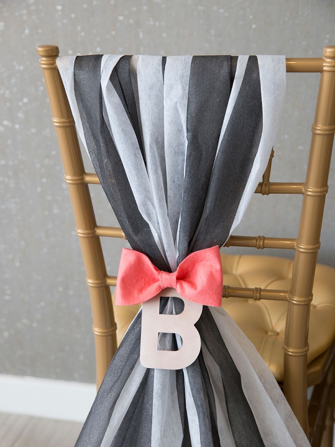 Check out these chic diy wedding reception chair bows! & Check Out These Chic DIY Wedding Reception Chair Bows! | Pinterest ...