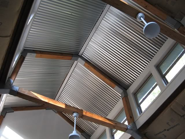 Best Old Barn Tin Ceiling My New Garage Build Page 8 The 400 x 300