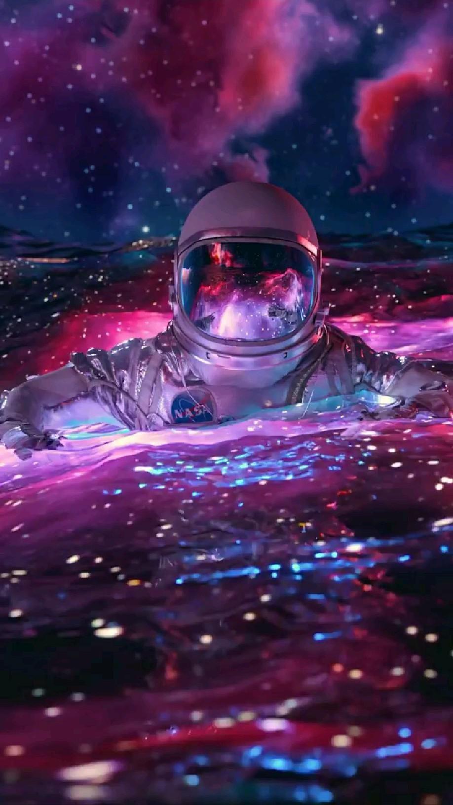 Astronaut in the Ocean..! 🤩