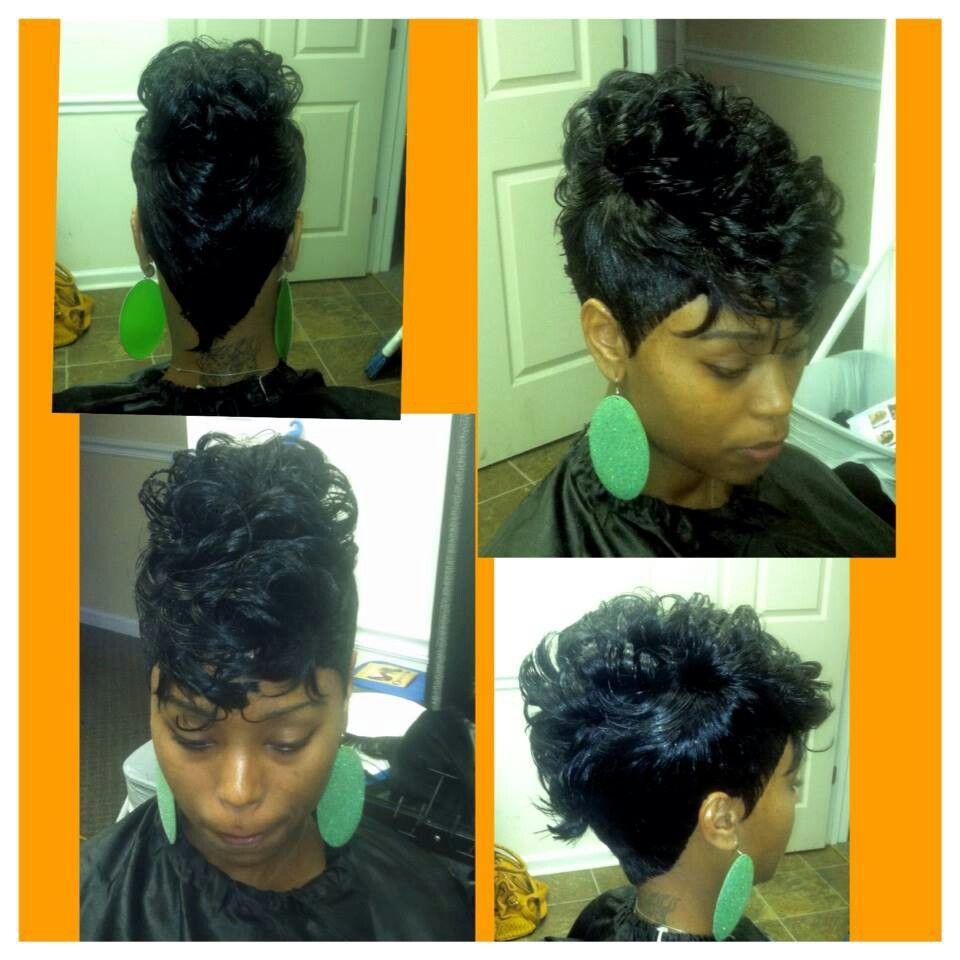 27pc mohawk | hair | hair styles, mohawk hairstyles, quick
