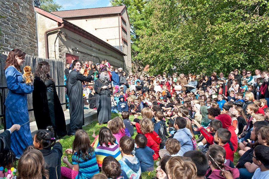 Harry Potter Festival in Chestnut Hill, Philadelphia: On October 17-18, 2014