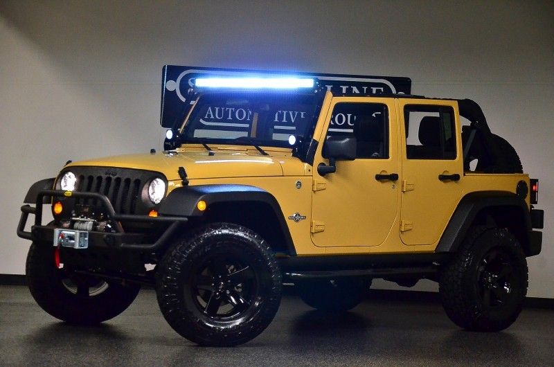 2013 Dune Jeep Wrangler Unlimited Oscar Mike Offroad