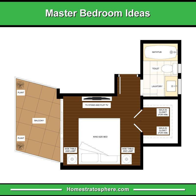 Best 13 Master Bedroom Floor Plans Computer Layout Drawings 400 x 300