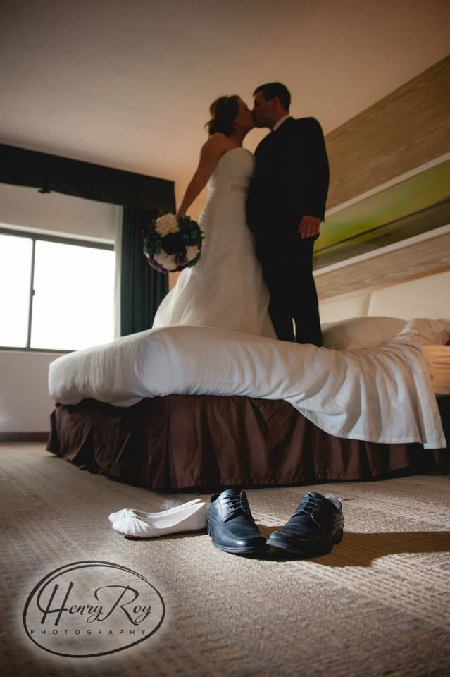 After jumping on the bed. Chapel in the Hills Wedding. Rapid City ...