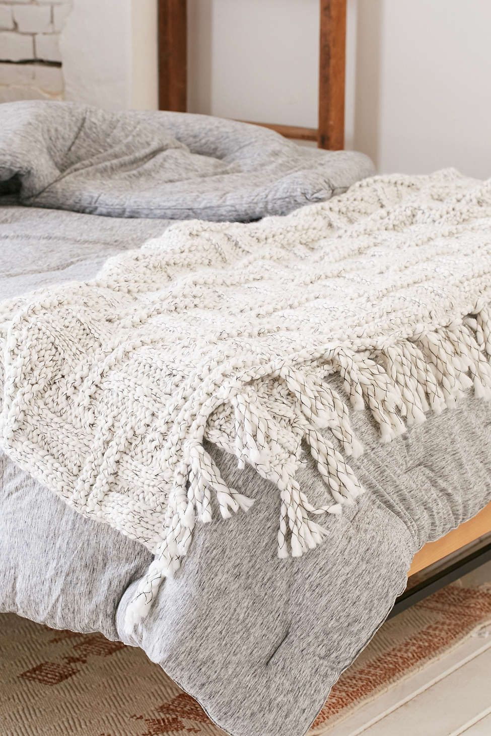 What Is A Throw Blanket Seed Stitch Knit Throw Blanket  Seed Stitch Urban Outfitters And