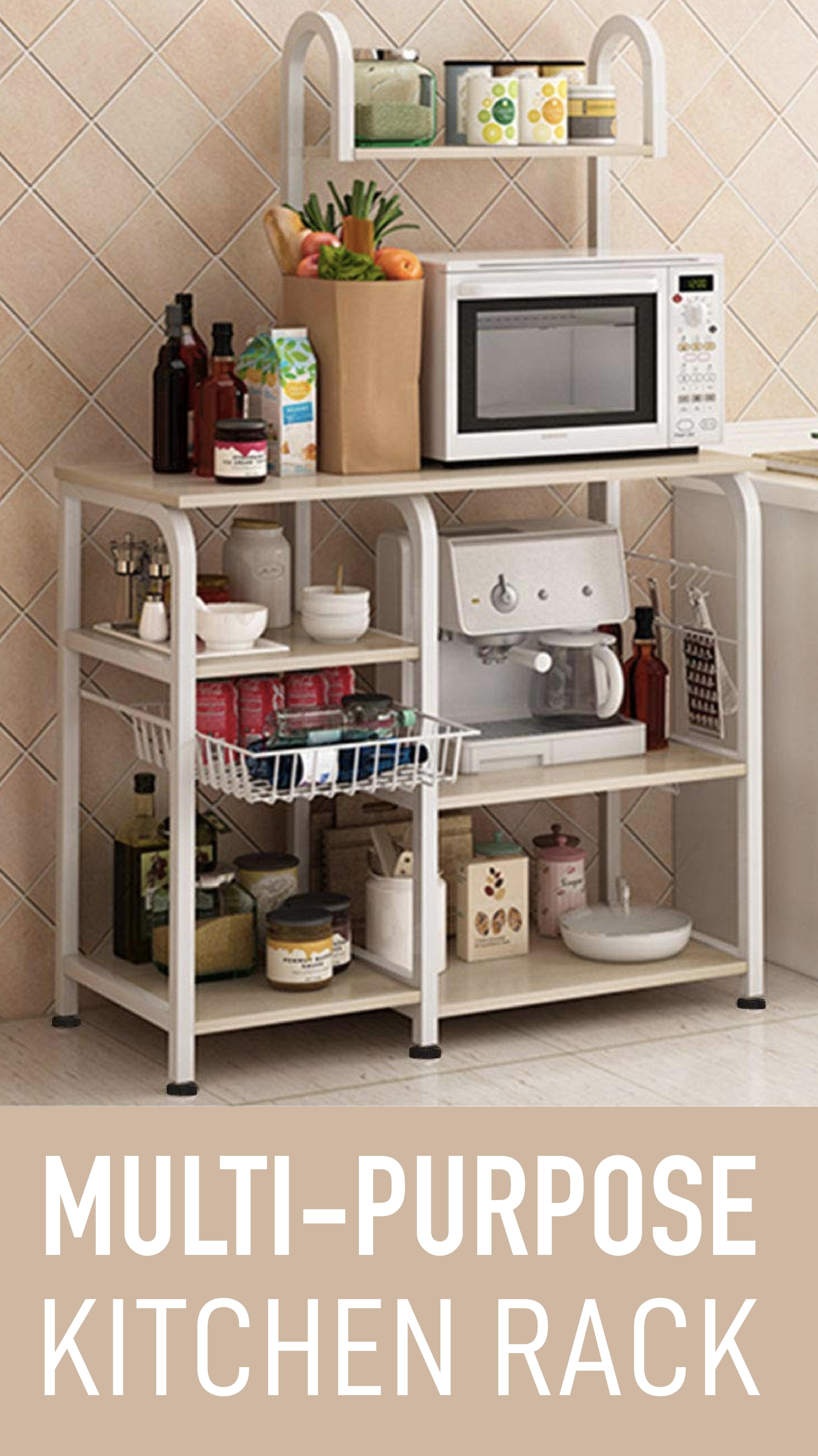 Multi Purpose Kitchen Rack Baker S Rack Utility Storage Shelf