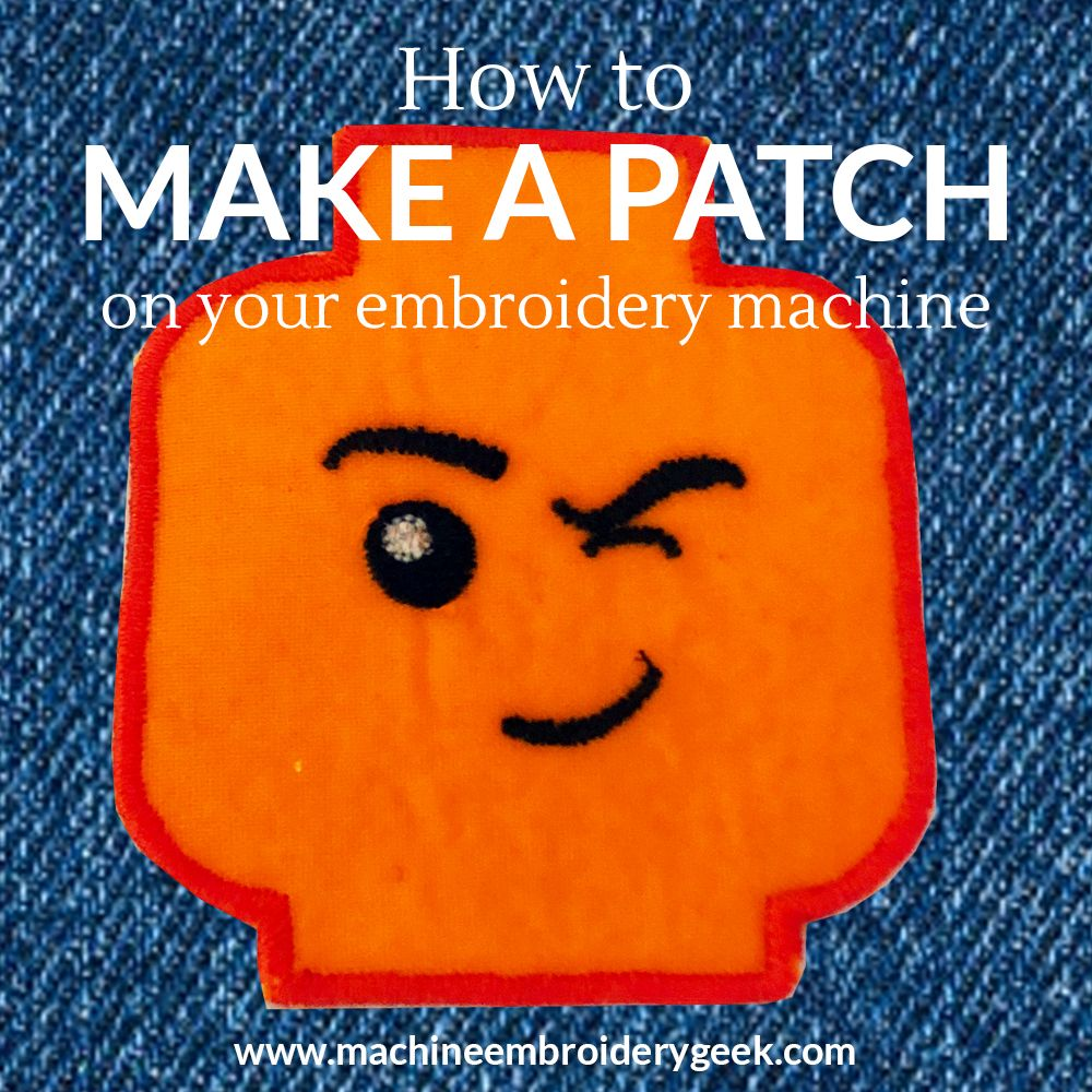 How to Make Your Own Embroidered Patches and Badges DIY