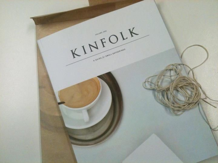 Kinfolk brilliance, issue one.