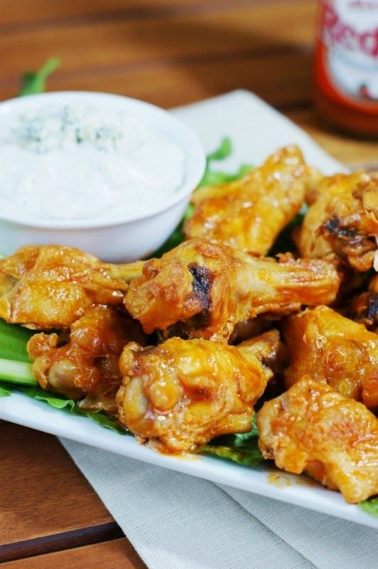 Baked Buffalo Wings ~ making your own at home is easier ...