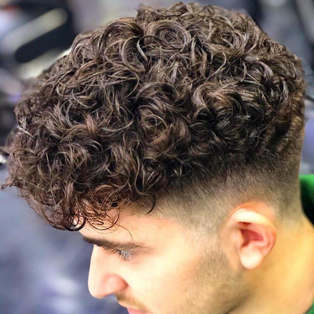 Pin On Boy Man Perm Merm Curls Perma