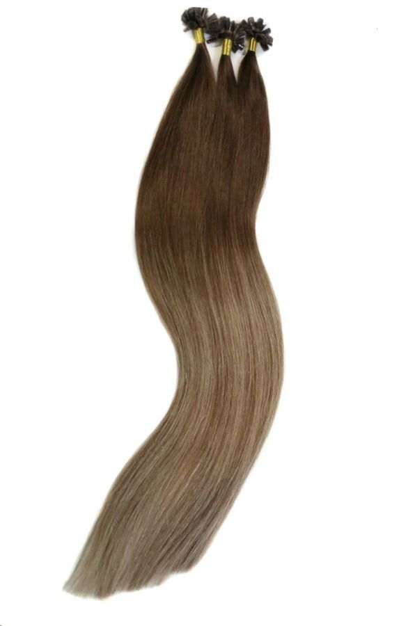"VITASH OMBRE REMY HUMAN HAIR EXTENSION HAARVERLÃ""NGERUNG KERATIN BONDING, 55cm#HUMAN#HAIR#EXTENSION #humanhairextensions"