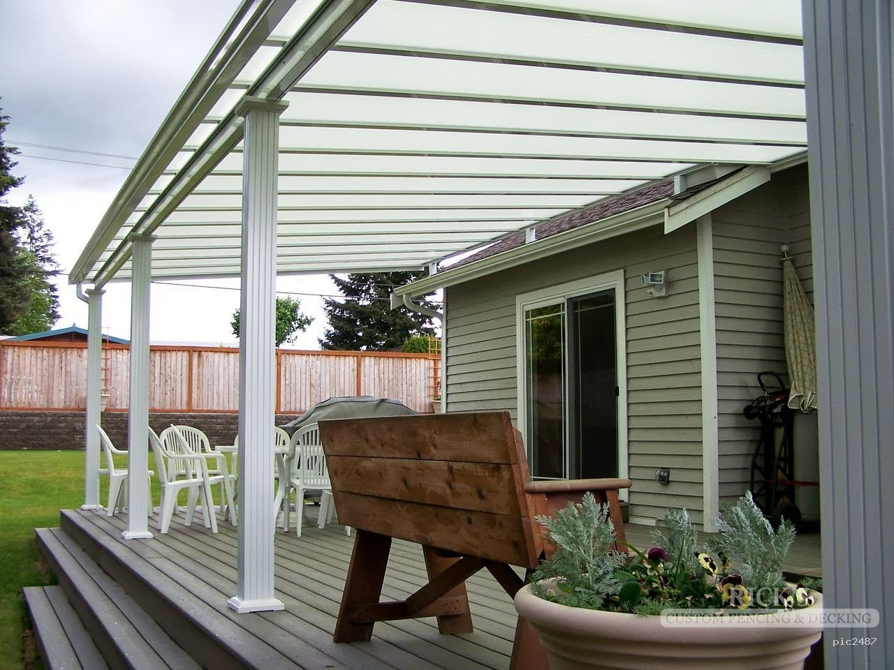 Deck Aluminum Patio Covers