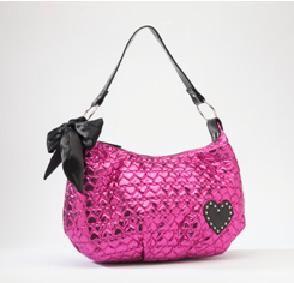 www.brokencherry.com #rockrebel #rocknroll #rockabilly  Hot Pink Quilted Hobo   $38.00
