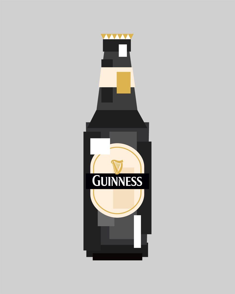 Des bières pixelisées | For the love of Art | Pinterest | Guinness ...