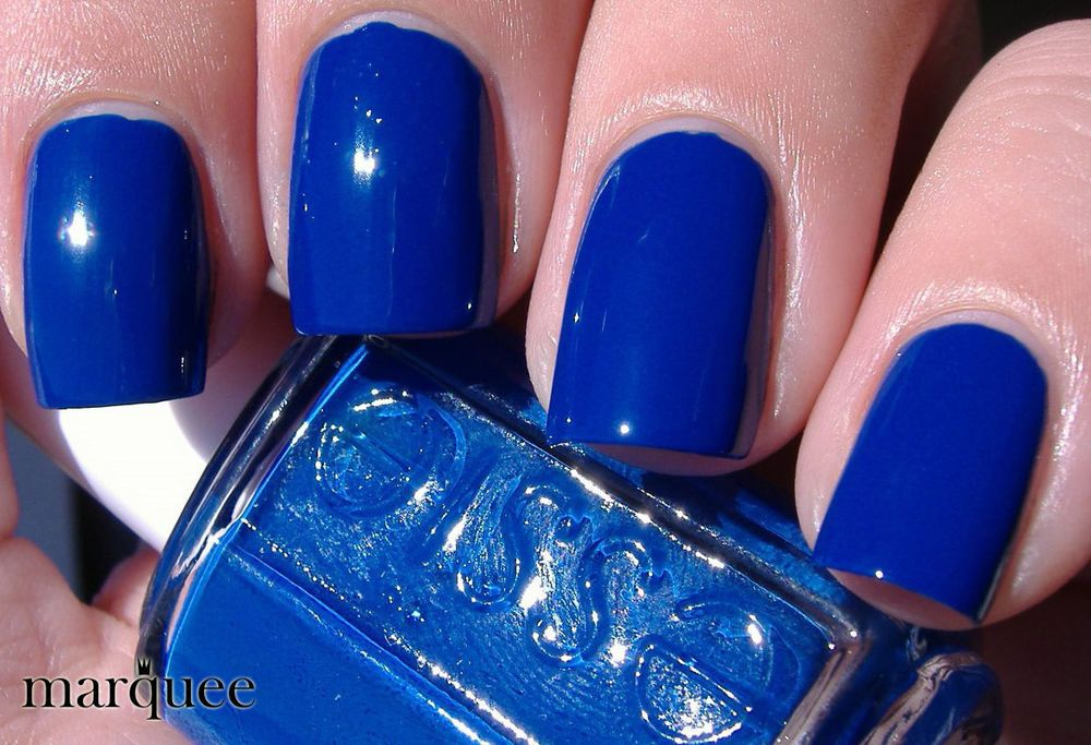 Related image | NAILS | Pinterest | Royal blue color, Essie nail ...
