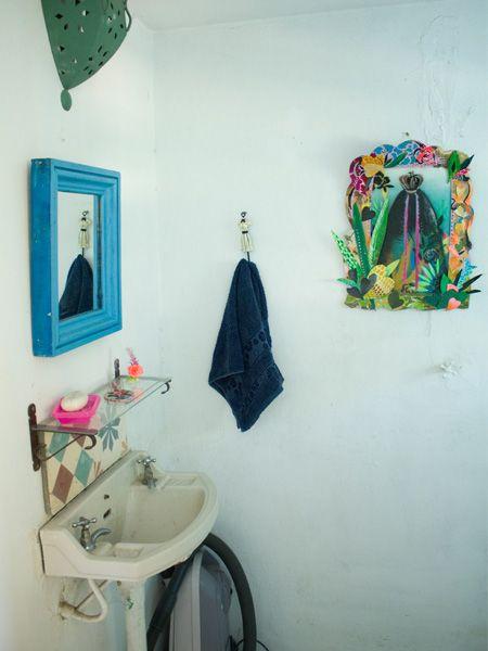 Baño de afuera - baño de servicio