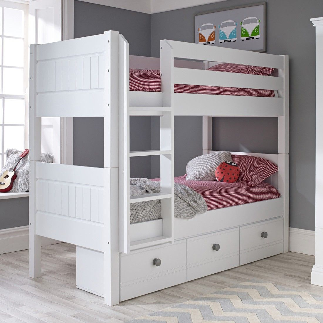 Pebblelicious Double Dreamer Bunk Bed Ollie Leila Childrens