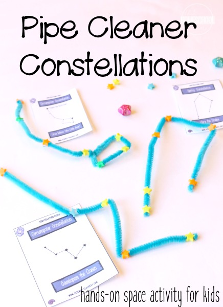 Photo of Pipe Cleaner Constellations | Hands-on Astronomy Activity