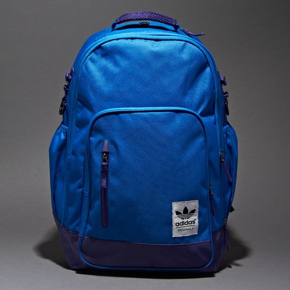 9a87ac91845b adidas Originals Campus Plus Backpack - Bluebird Purple White Black ...