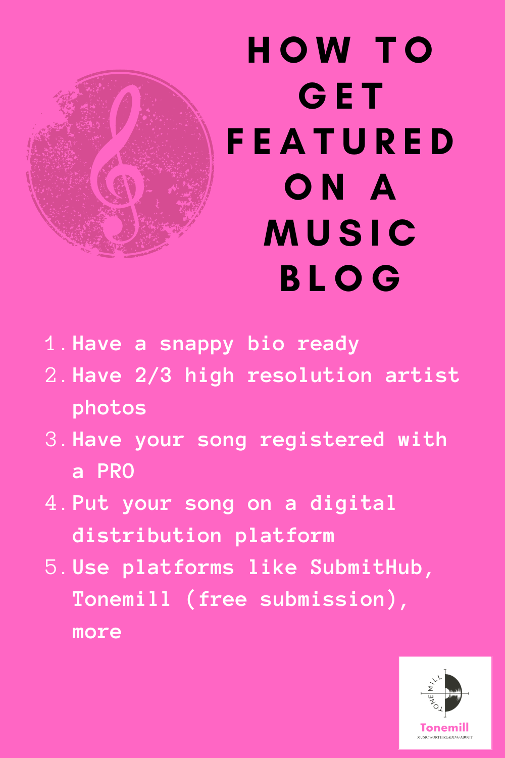 Pin On How To Make It As A Musician