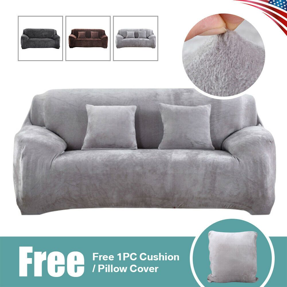 1 2 3 Seater Stretch Chair Sofa Covers Couch Cover Elastic Slipcover Protector Kitchen Sofa Ideas Of Kitchen Sofa Kitchenso In 2020 Kitchen Sofa Couch Sofa Covers
