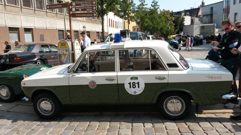 Lada 2101 Volkspolizei, 1,2 Liter, 4-Zyl., 60 PS, Bj. 1984
