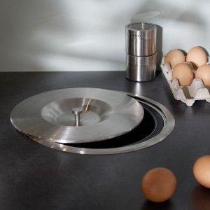 Poubelle Pour Plan De Travail Chez Leroy Merlin Home - Poubelle de meuble cuisine pour idees de deco de cuisine