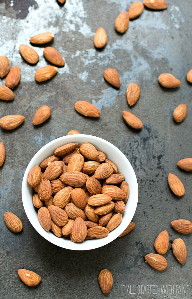 how to make oven roasted almonds