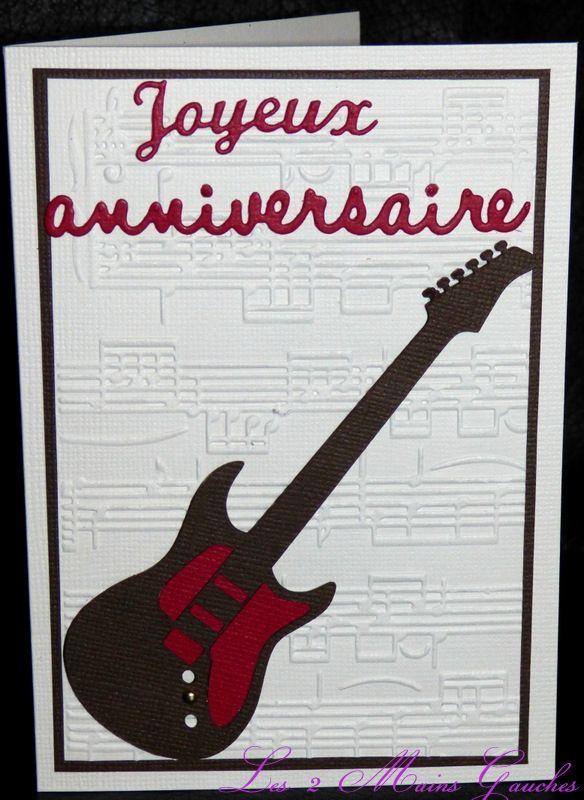 bon anniversaire guitare