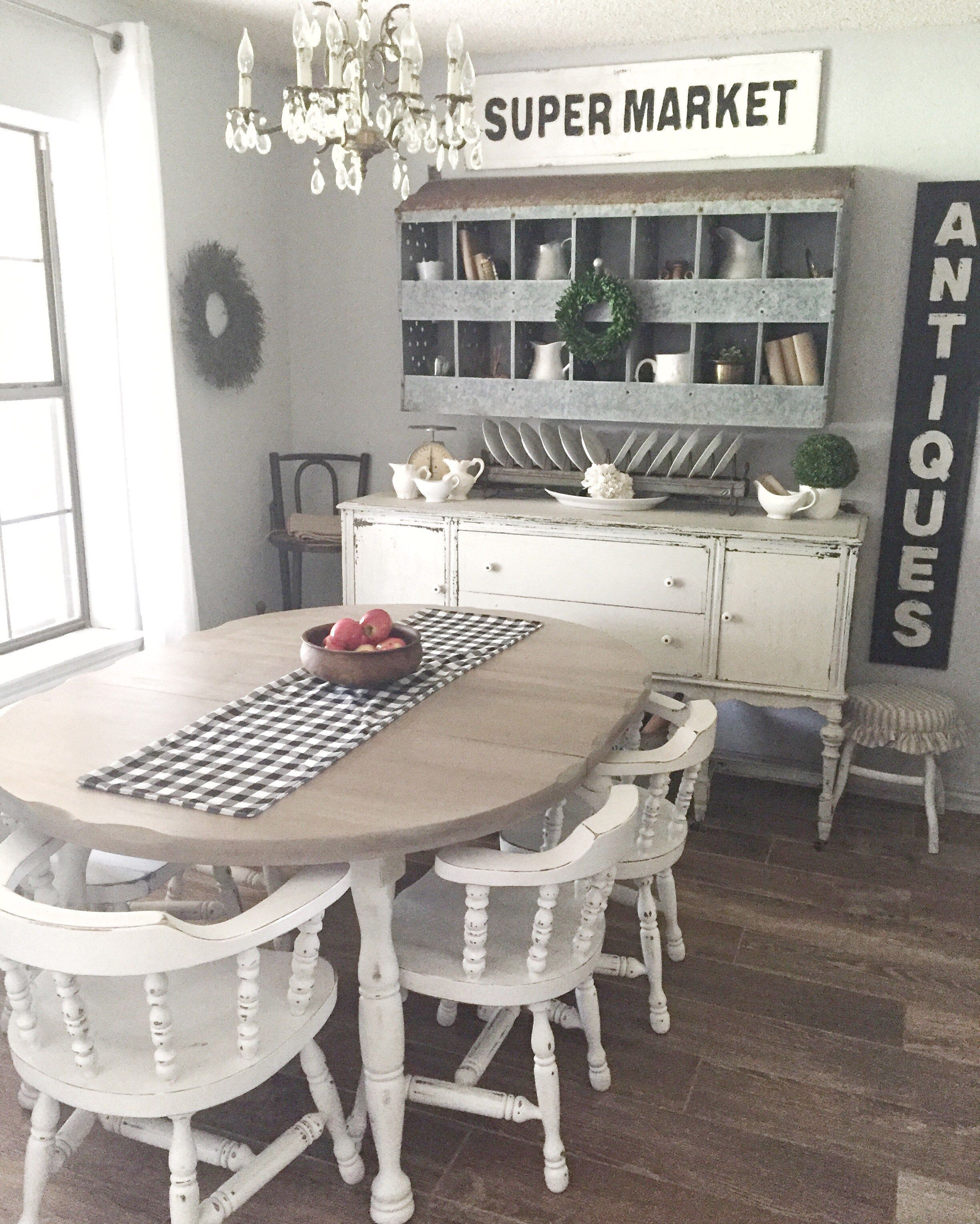 Refinished Dining Room Tables: Farmhouse Table Refinish Project