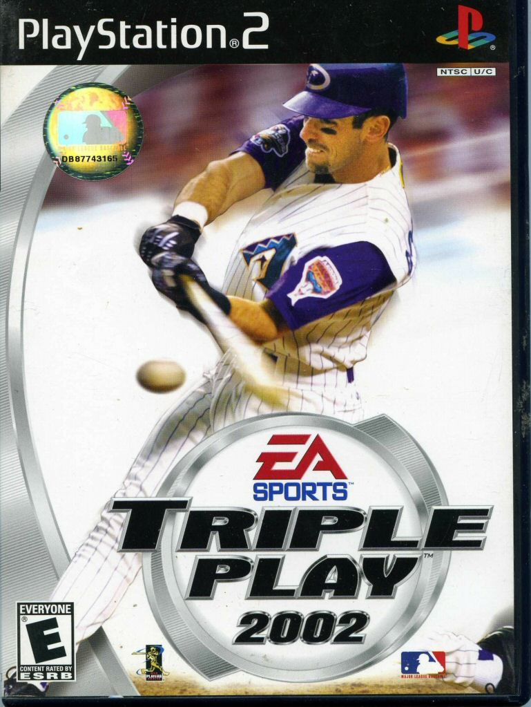 Triple Play 2002 My Gaming Collection Xbox Games Game Sales Play Baseball Games